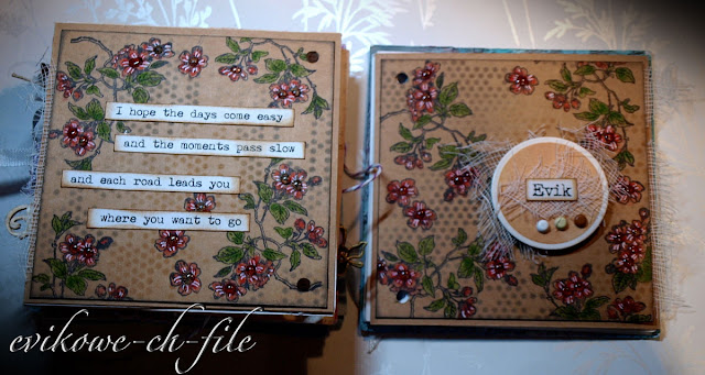 "I hope the days come easy and the moments pass slow, mini album, glossy accents, Doodlebug MINI BRADS NEUTRAL Brad 1/8"" White Brown Grey Black"