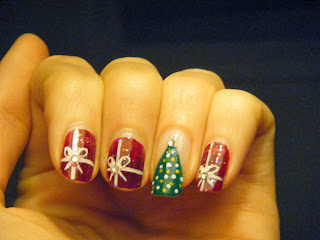 Christmas-nailart