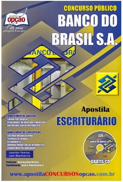 Apostila BB ESCRITURÁRIO Banco do Brasil - Escriturário