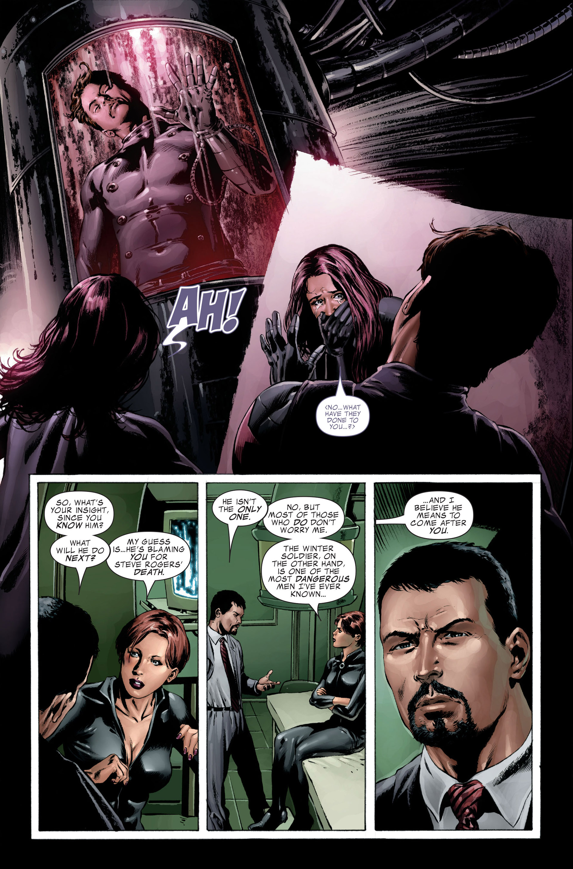 Captain America (2005) Issue #27 #27 - English 24