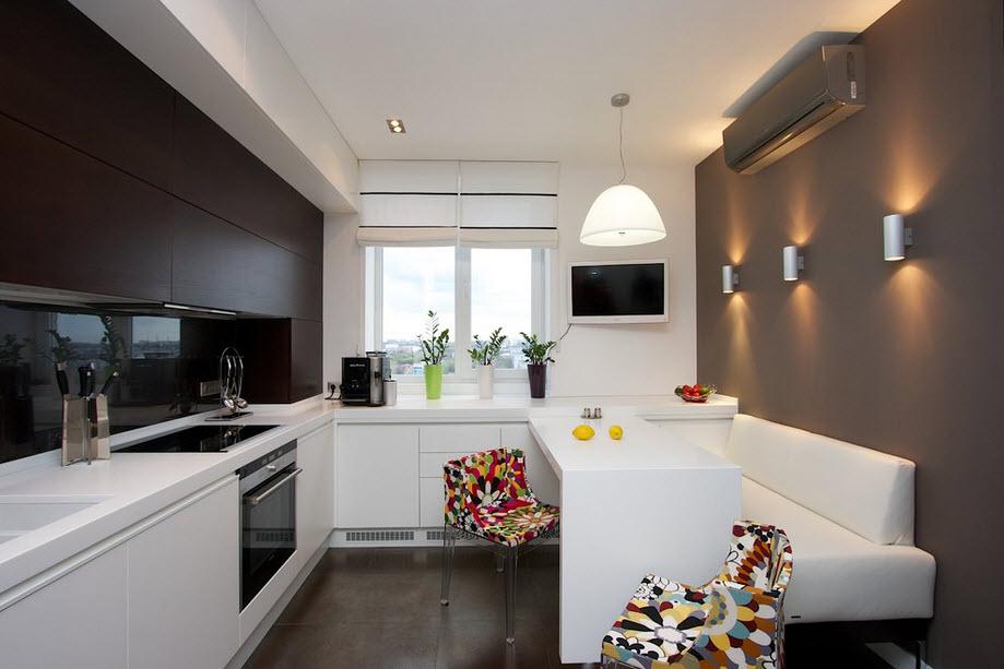 Kitchen Interior With Sofa   Czytamwwannie