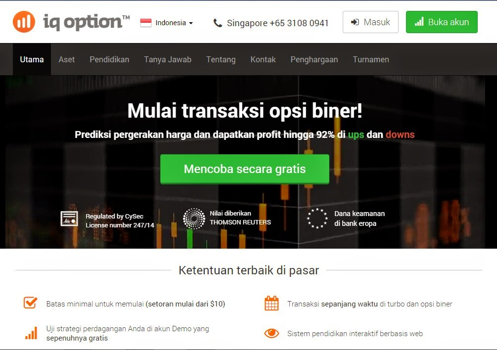 Trading binary option sederhana dan inovatif