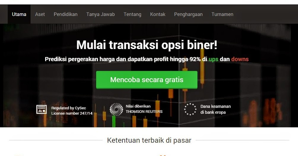 Kelebihan binary option