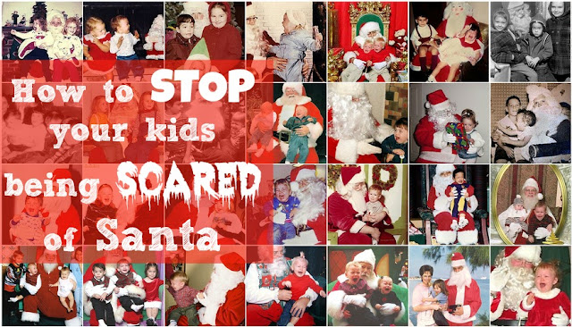 How to stop your kid being scared of Santa