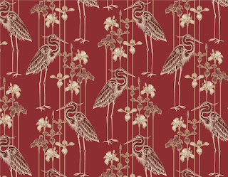 Judit Gueth Great Blue Heron Wallpaper in Marsala