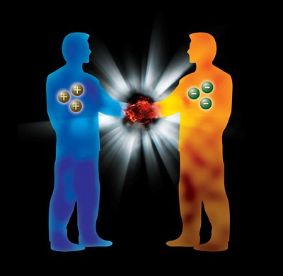Resultado de imagen de Un Universo paralelo al nuestro pero de antimateria