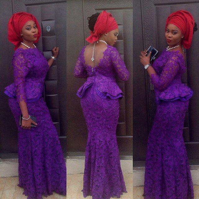 Creative Aso Ebi Styles You can Rock to Nigerian wedding - Debonke ...