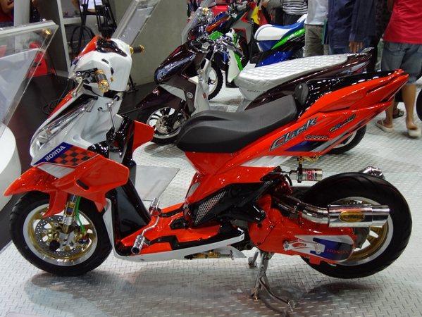 Modifikasi Motor Vario 125 on New Honda Vario 150