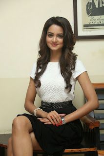 Actress Shanvi Latest Pictures at Pyaar Mein Padipoyane Success Meet  89