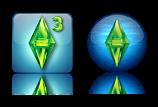 iconos del juego de los sims 3