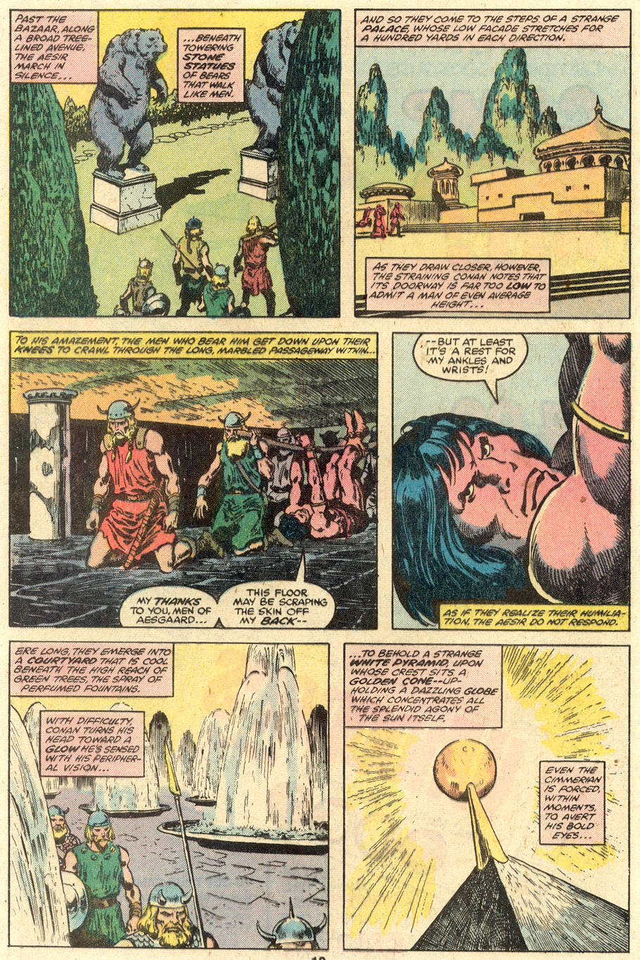 Conan the Barbarian (1970) Issue #110 #122 - English 7