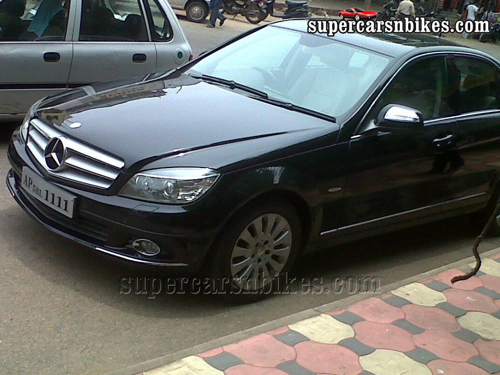 Mercedes benz c220 cdi in vizag photos supercars 39 n 39 bikes for C220 mercedes benz