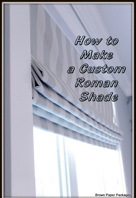 Quality Sewing Tutorials Roman Shade Tutorial By Evie Of