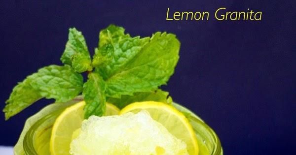 Ribbon's to Pasta's: Lemon Granita