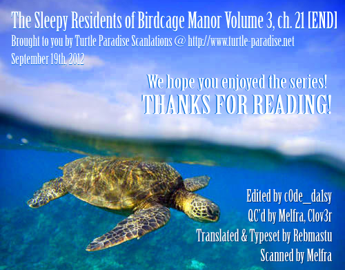 The Sleepy Residents of Birdcage Manor chap 21 – End Trang 32 - Mangak.info