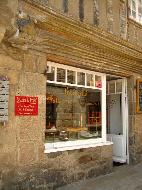 Barbabe Patisserie in Dinan, France.