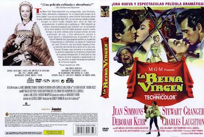 Carátula dvd película: La reina virgen (1953) Young Bess