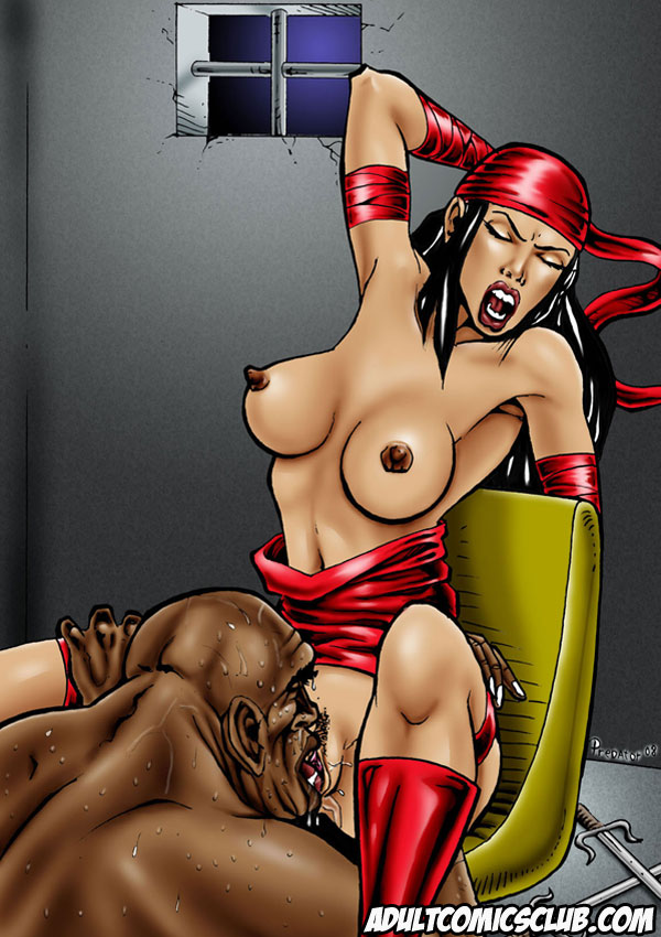 Sample Image From Superheroines In Peril Adult Comic - Page.