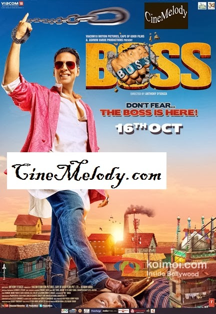 Boss  Hindi Mp3 Songs Free  Download  2013