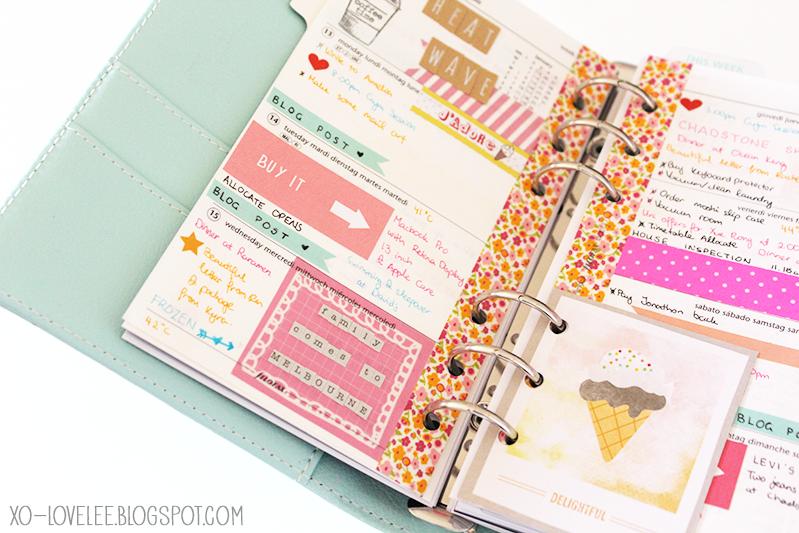 ... lovelee today: love diaries:: mint kikki. k, you've captured my heart