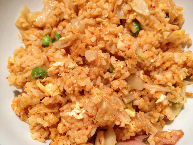 Whisky Green Tea: Kimchi Fried Rice