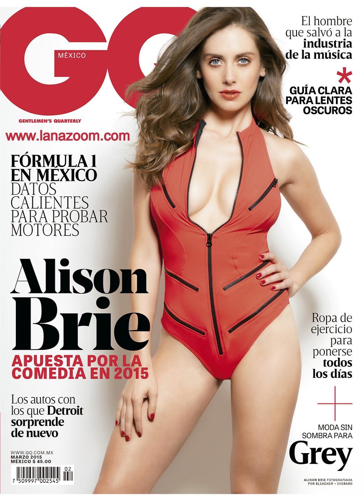 صور أليسون بري في مجلة GQ المكسيك - مارس 2015