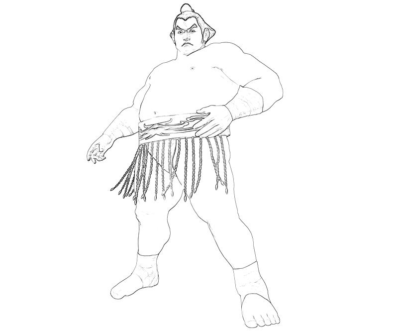 printable-ganryu-style-coloring-pages