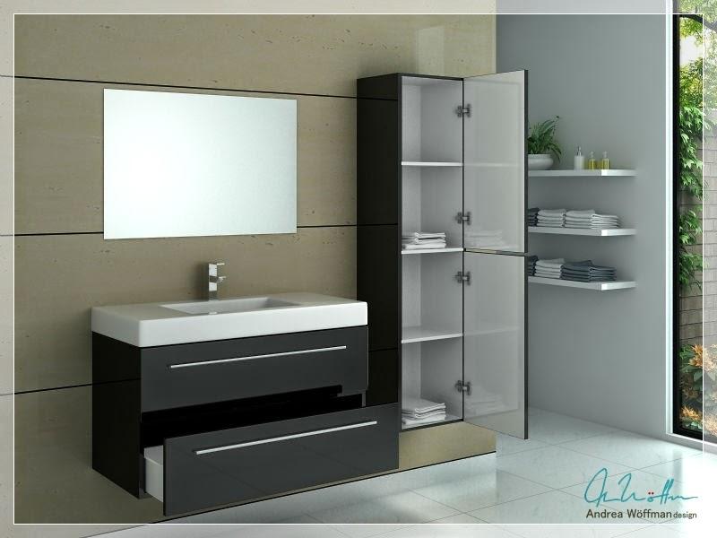 Muebles Para Baño Vanitory: productos Andrea Wöffman: Vanitory modernos – Varias opciones