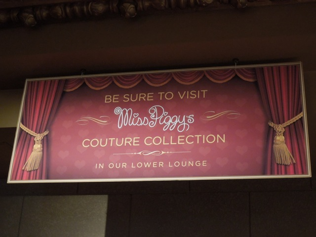 Miss Piggy Muppets Couture Collection