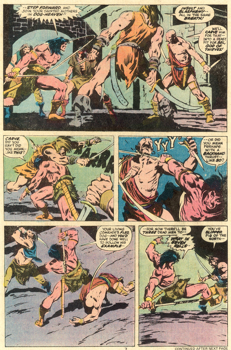 Conan the Barbarian (1970) Issue #78 #90 - English 6