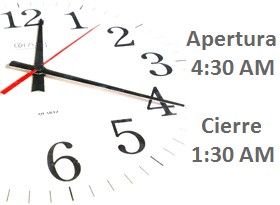 Horario Aeropuerto