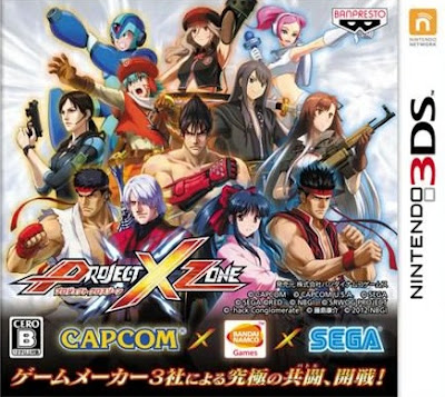 Project X Zone (Japan Cover Art)