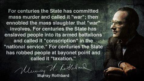 "Murray Rothbard on ""The State"""