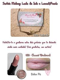 Sorteio Makeup Looks da Inês e Laces&Pearls