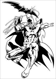 Desenhos Preto e Branco super herois, homen aranha, homen de ferro, mulher maravilha, batman  Colorir