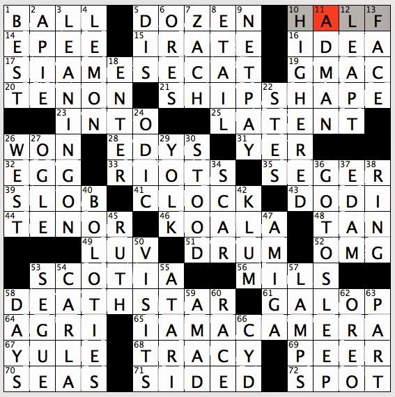 Hat Crossword Puzzle