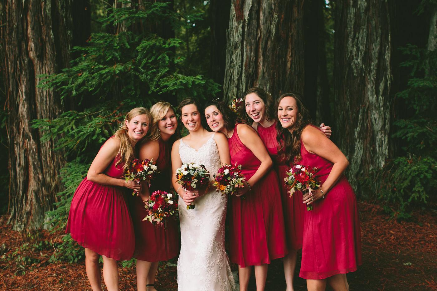 California Red Wood Wedding
