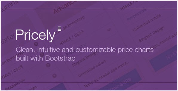 Pricely - Bootstrap Powered Price Charts