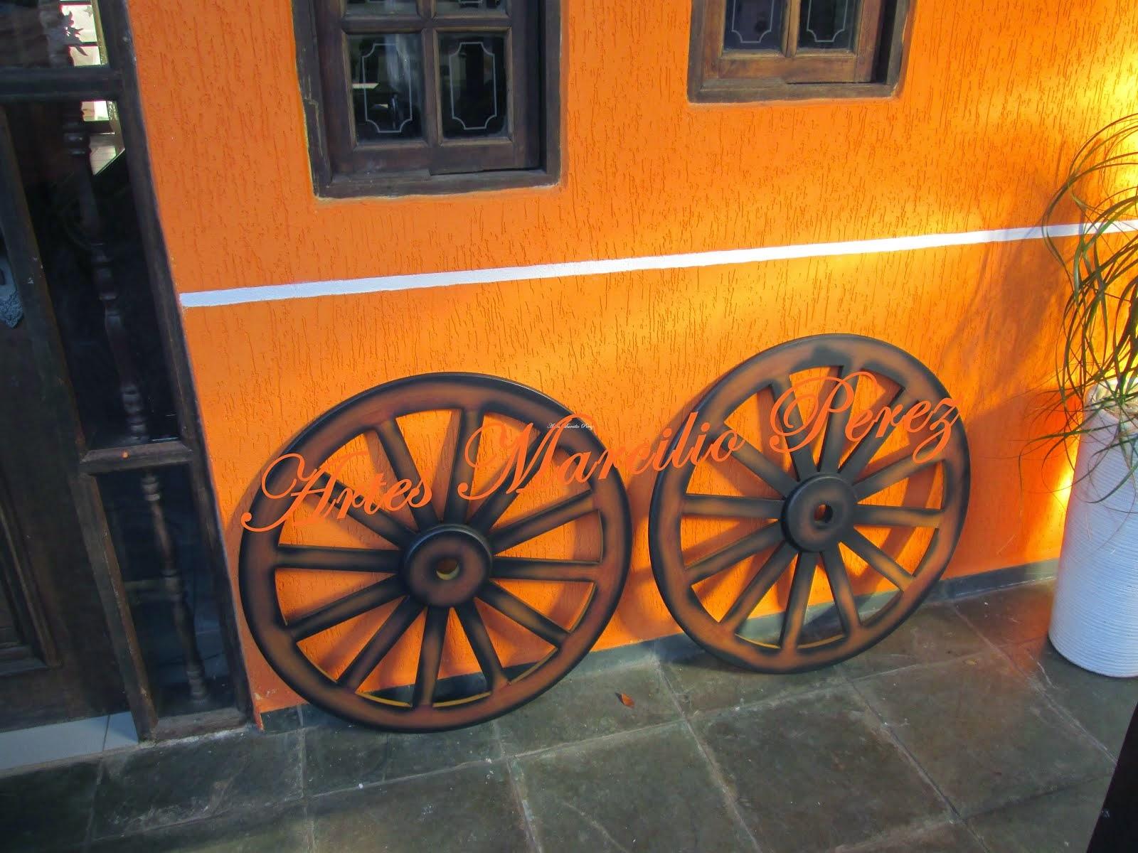 Roda para decoração