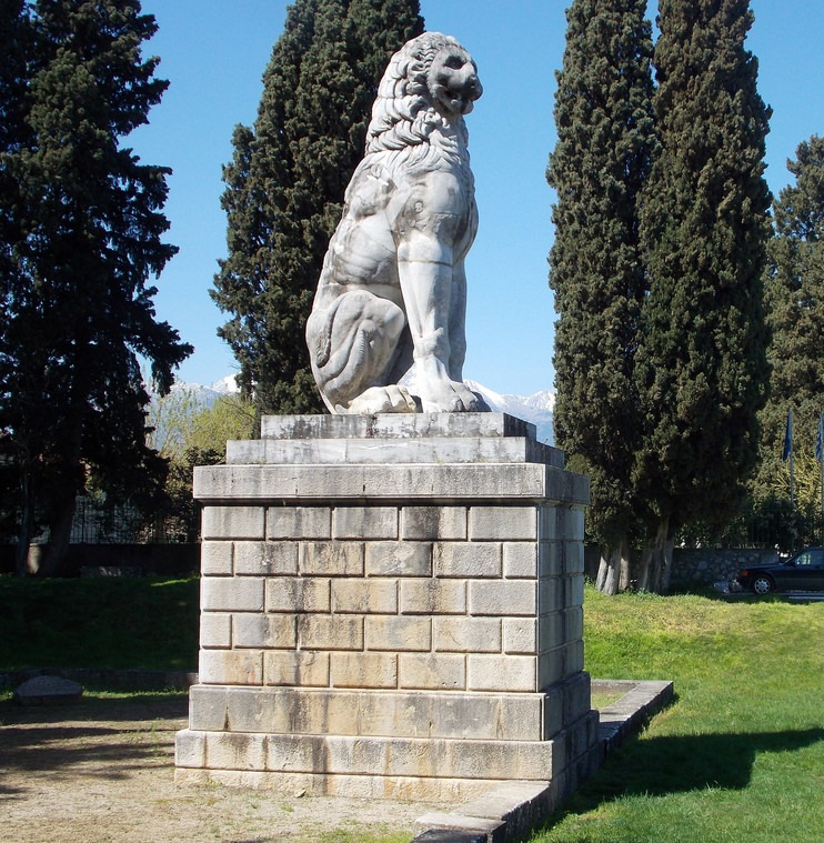 Αποτέλεσμα εικόνας για λιονταρι χαιρωνειας