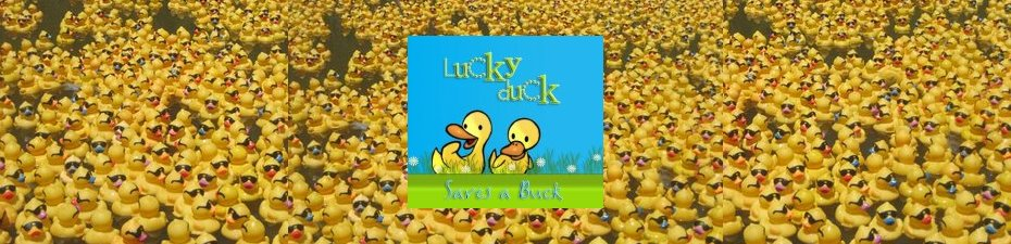 Lucky Duck Saves A Buck