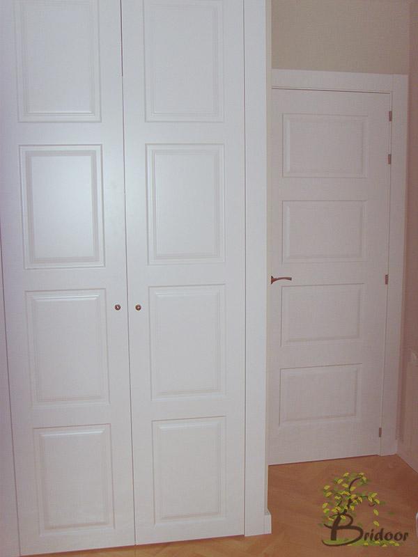 Bridoor s l puertas y armarios lacados para un piso en - Puertas lacadas en madrid ...