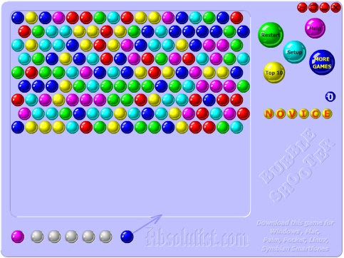 games bubble shooter y8
