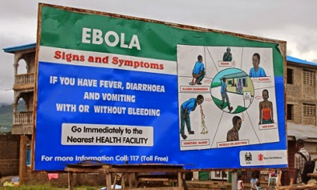 Ebola-Nigerians are harrassing our citizens- Liberian Govt cries out.