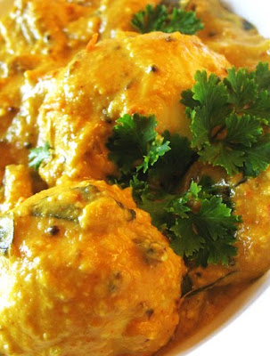 mushroom egg masala