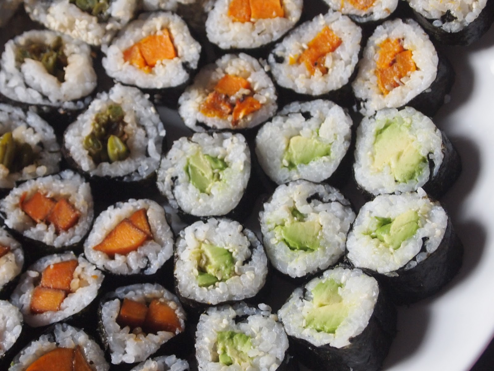 Vegetable Sushi | Michelle's tiny kitchen