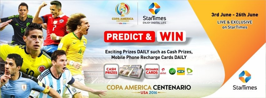 Predict & Win with StarTimes. Click for more info