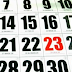 Daftar Kalender Merah 2012