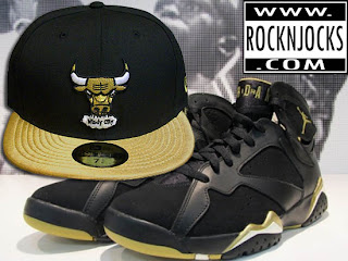 > GOLDEN MOMENTS PACKAGE RETRO JORDAN! Perfect Match Custom Bulls Fitted and SNapback! Check It! - Photo posted in Kicks @ BX  (Sneakers &amp; Clothing) | Sign in and leave a comment below!