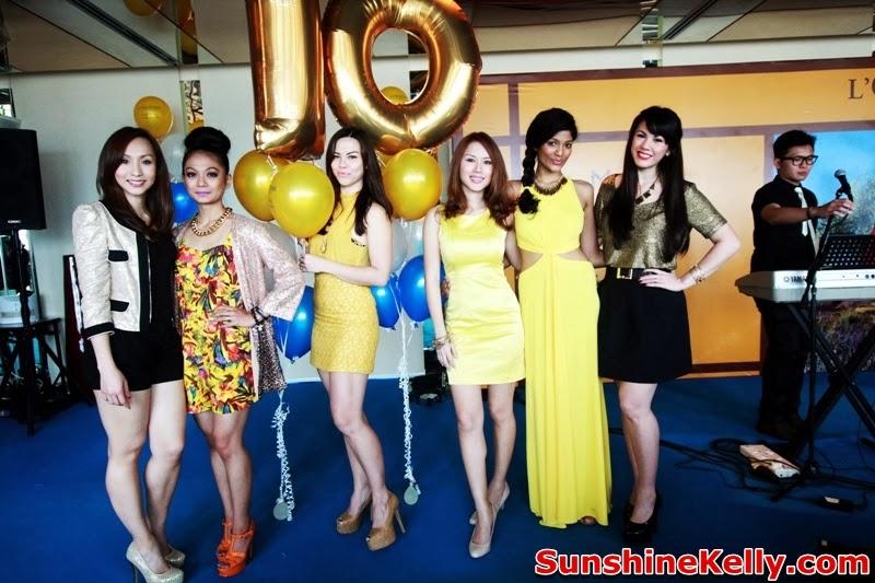 L'OCCITANE Malaysia 10th Anniversary, True Provencal Inspiration, L'OCCITANE Malaysia, Anniversary, Belinda Chee, Raja Atilia, Pamela Chong, Julie Woon, Thanuja, Vanessa Chong